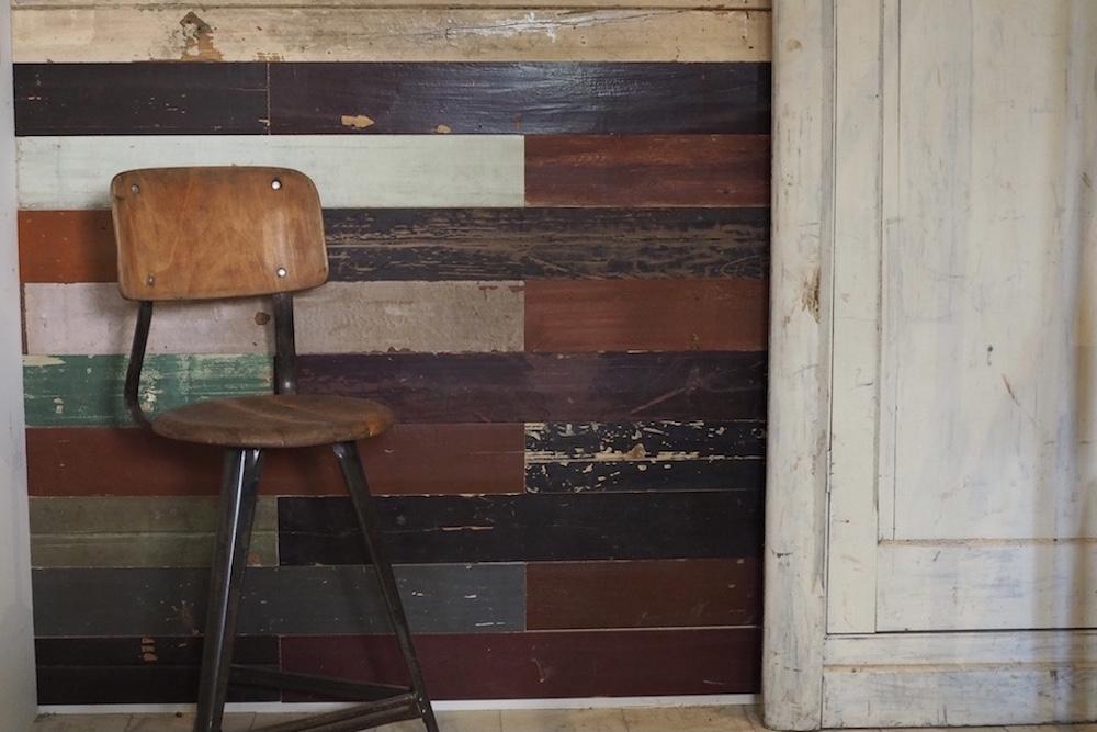 Old wood wall panel (color)<p>古材のウォールパネル (カラー)</p>