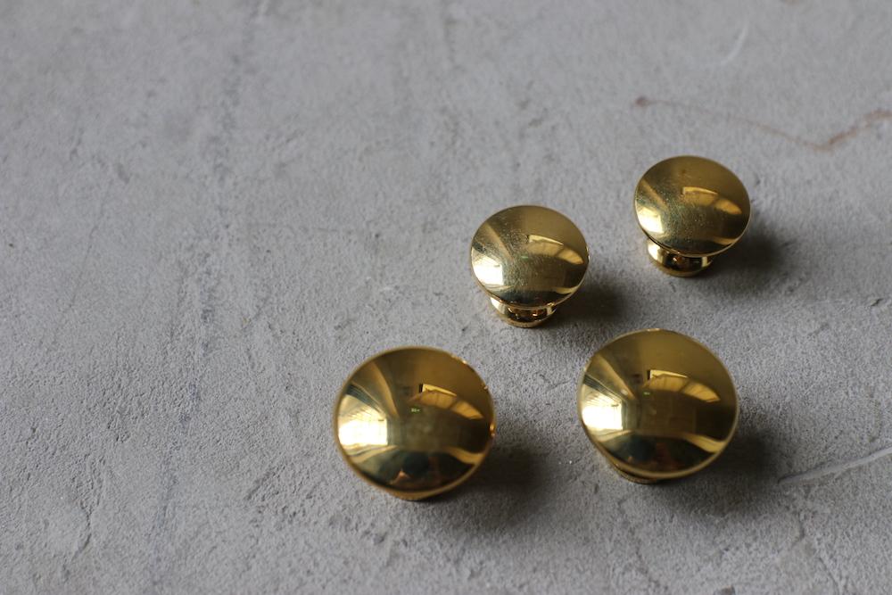 Brass knob B (S/L)<p>真鍮つまみ B (S/L)</p>