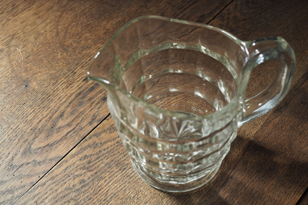 Glass water pitcher<p>ガラスピッチャー</p>
