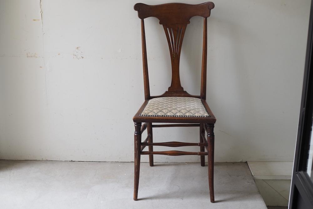 【HOLD】Vintage fabric chair B<p>ヴィンテージ ファブリックチェア B</p>