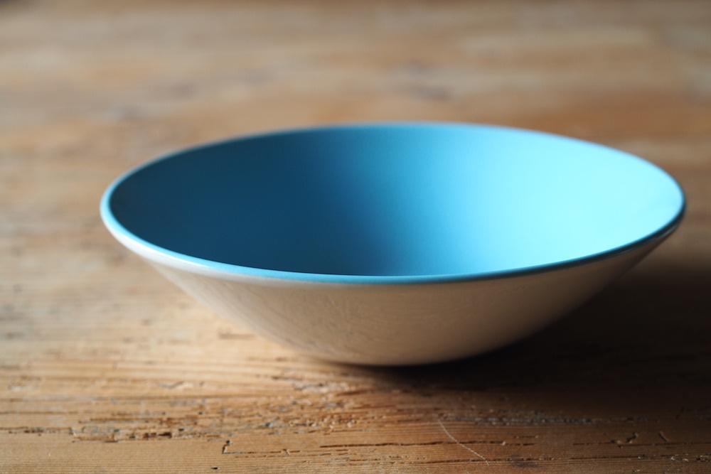 Poole Pottery bowl(Skyblue)<p>プール・ポタリー ボウル(スカイブルー)</p>
