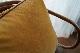 Double Sided Hand-dyed Velvet Cushion Cover Piping 50 / VIBRANT RUST&BROWN<p>キルステンヘクターマン 手染めベルベットクッション (カバーのみ)</p>
