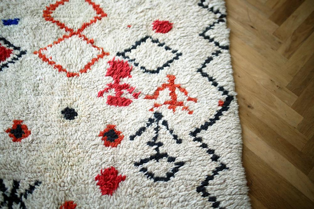 Vintage Azilal pile rug B<p>ヴィンテージアジラルラグ B</p>