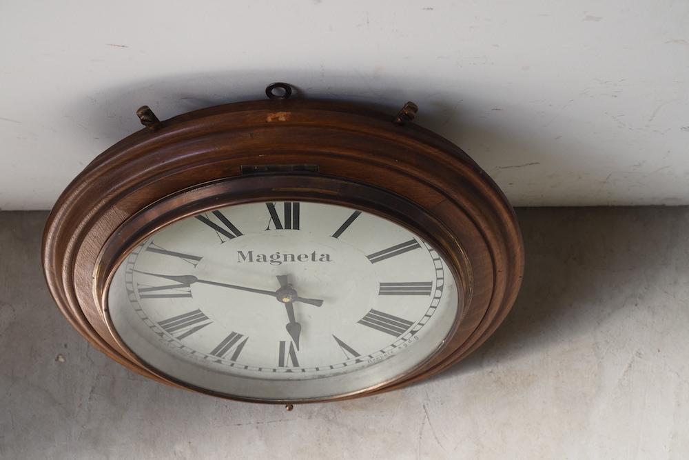 Vintage wall clock G<p>ウォールクロック G</p>