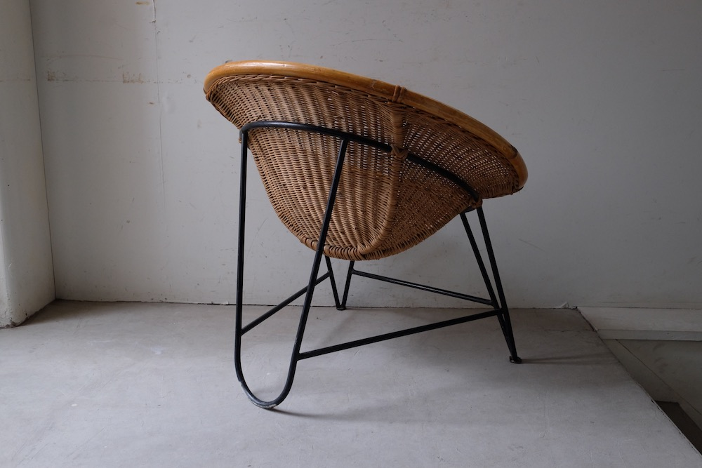 Rattan scoop chair (A-b)<p>ラタンスクープチェア (A-b)</p>