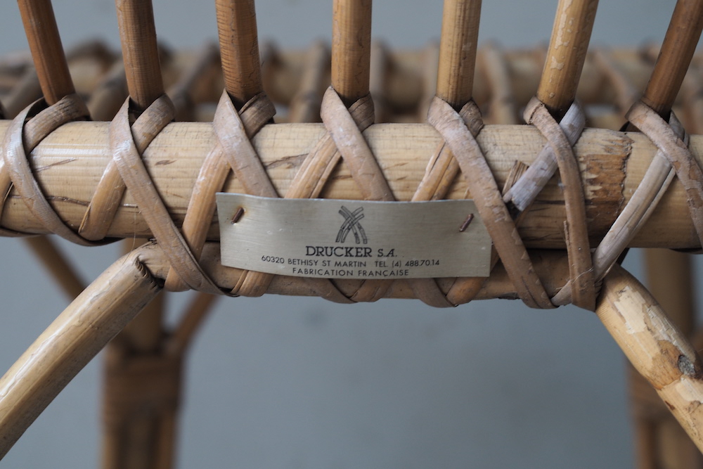 Rattan chair (k)<p>ラタンチェア (k)</p>