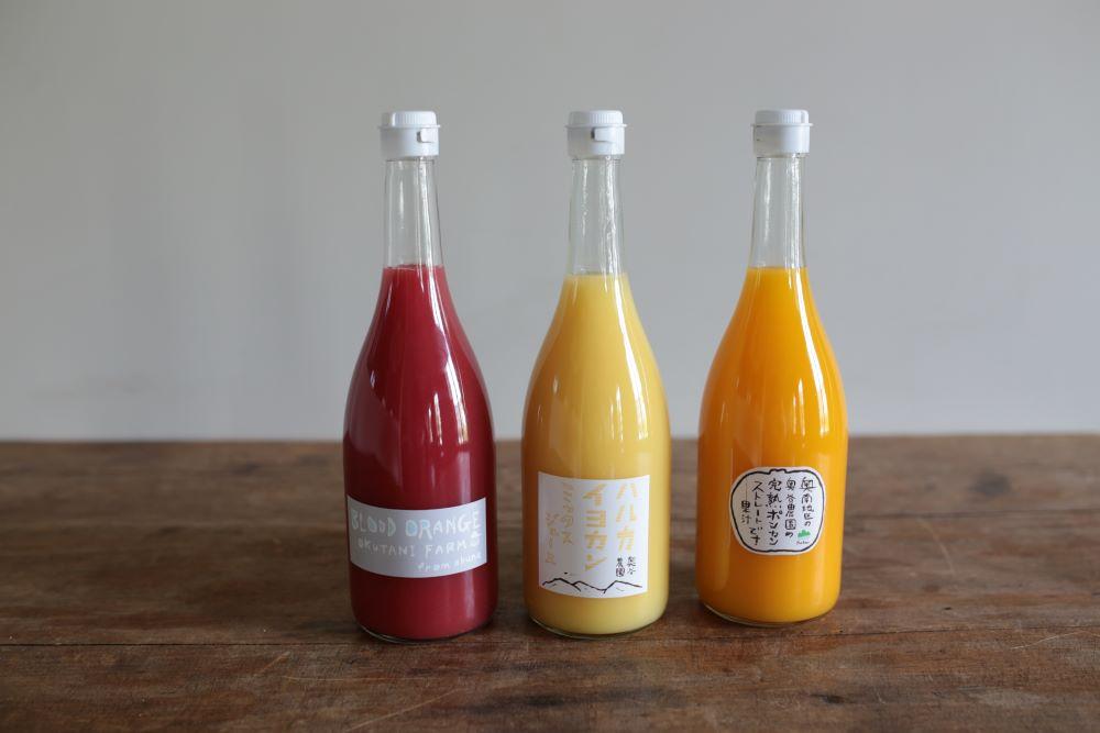 Orange mix juice<p>奥谷農園ハルカ イヨカンミックスジュース</p>