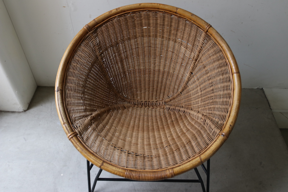 Rattan scoop chair (A-a)<p>ラタンスクープチェア (A-a)</p>