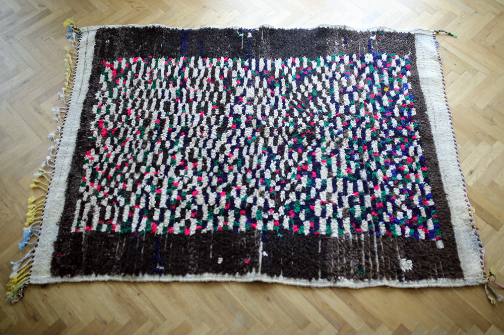 Vintage middle atlas pile rug<p>ヴィンテージアトラスラグ</p>