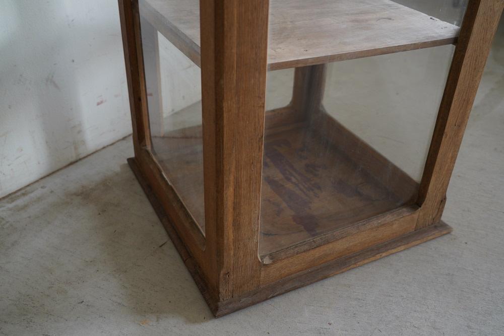 Oak glass showcase (2steps)<p>オークのガラスショーケース(2段)</p>