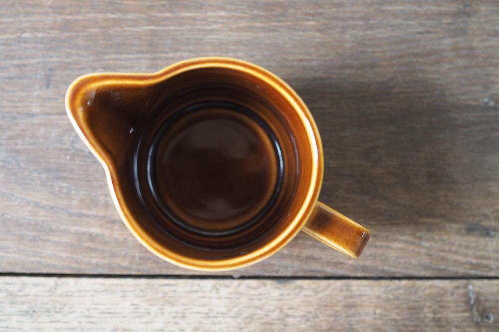 HORNSEA HEIRLOOM milkjag(autumn brown)<p>ホーンジー エアルーム ミルクジャグ(オータムブラウン)</p>