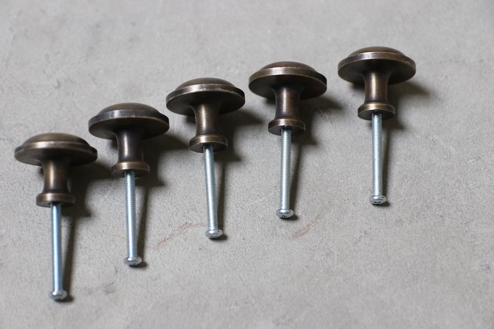 Brass knob E<p>真鍮つまみ E</p>
