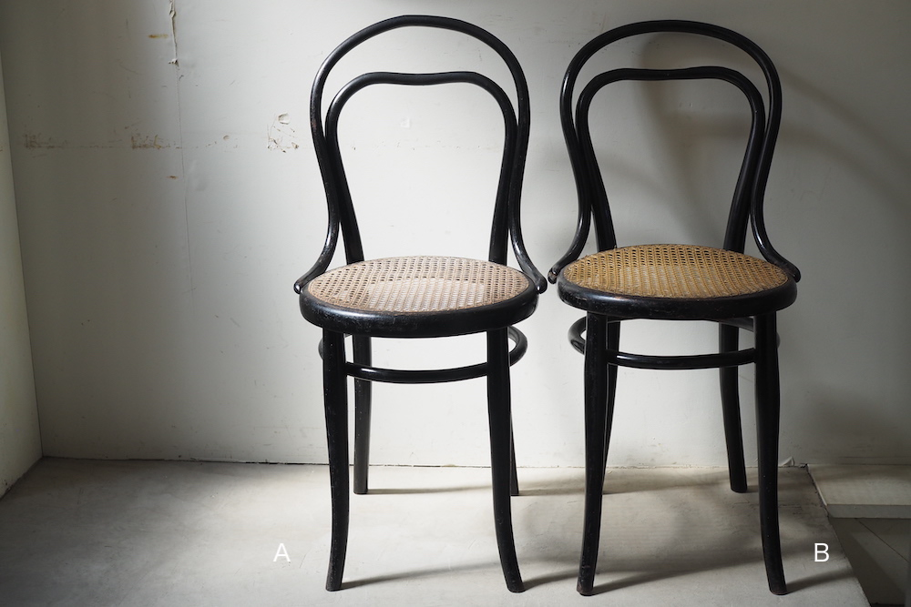 Thonet No.31 1/2 Ebonized Bentwood Chair<p>トーネット No.31 1/2 エボナイズドベントウッドチェア</p>