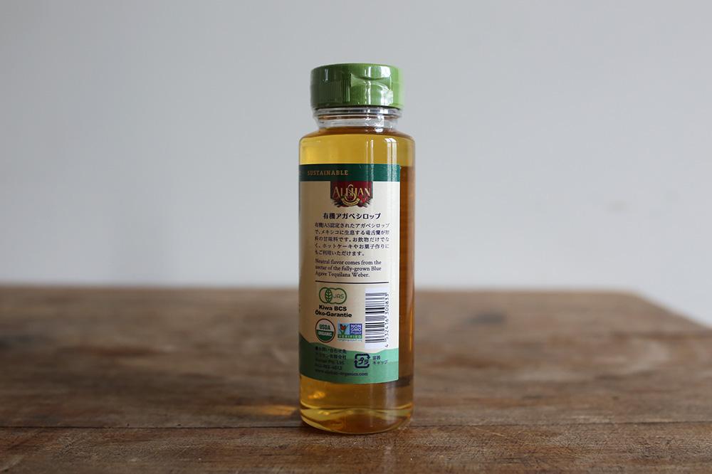 Organic agave syrup<p>有機アガベシロップ</p>