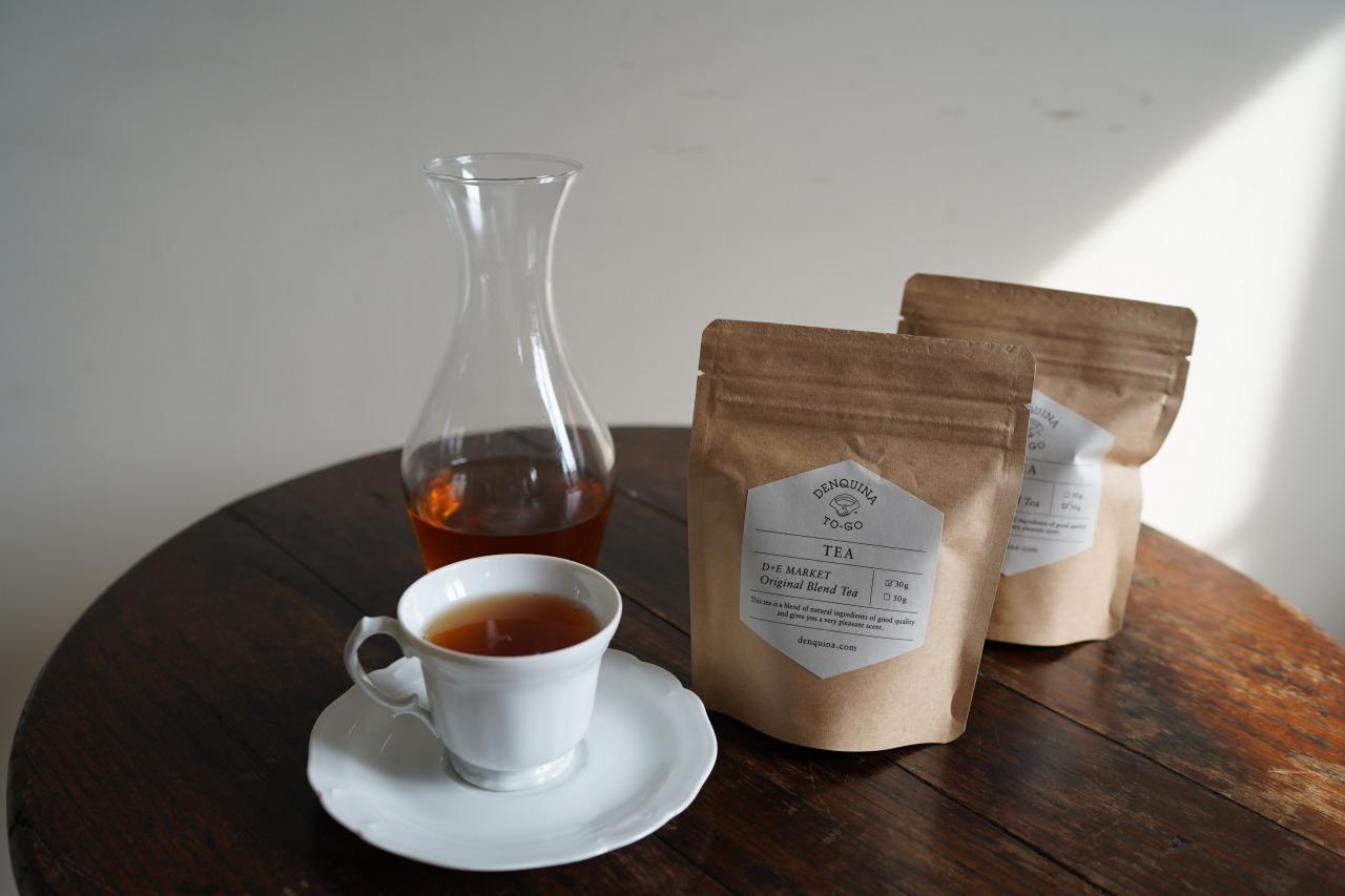 D+E MARKET Original blend tea by Uf-fu<p>オリジナルブレンドティーバイウーフ</p>