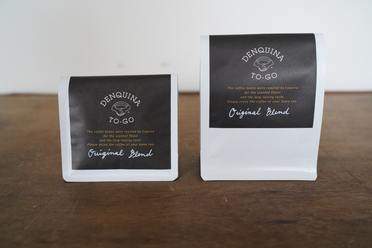 DENQUINA Original blend coffee<p>オリジナルブレンドコーヒー豆</p>