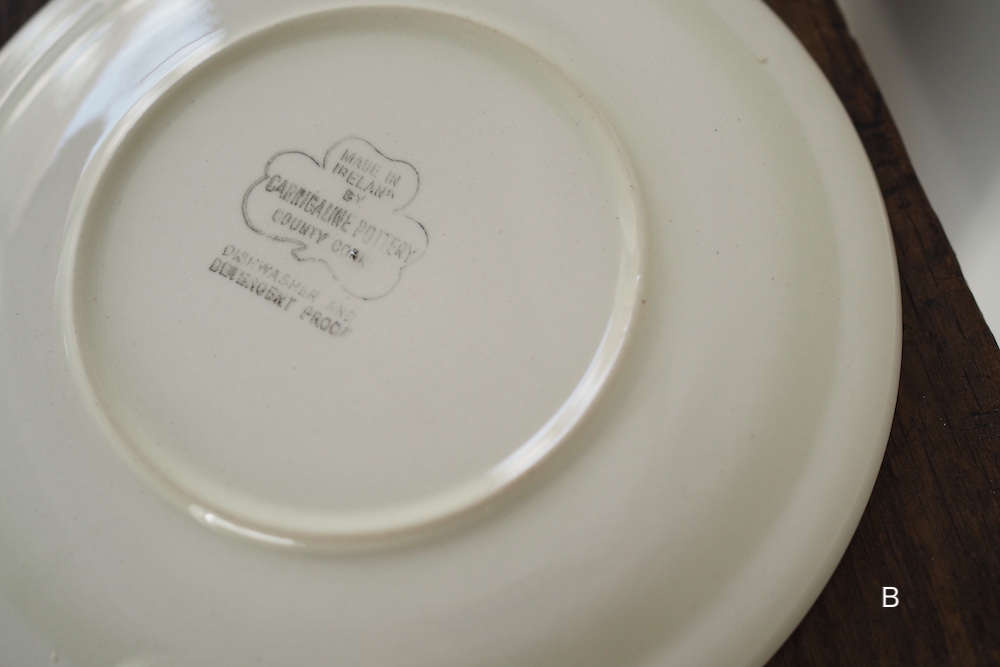 CARRIGALINE vintage plate A<p>カリガライン ヴィンテージプレート A</p>