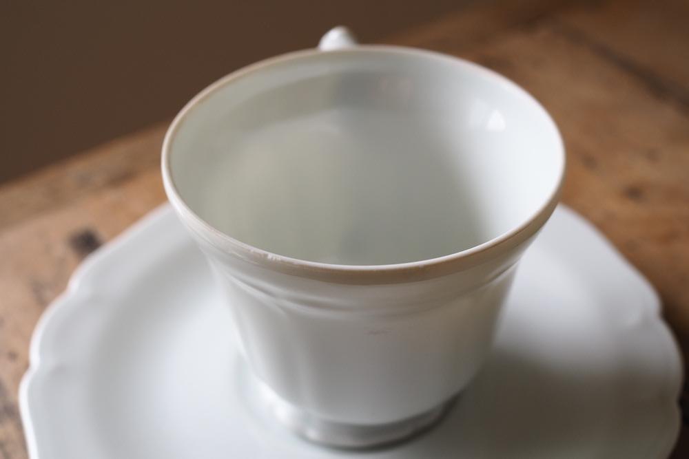 Limoges tea cup&saucer<p>リモージュ ティーカップ&ソーサー</p>