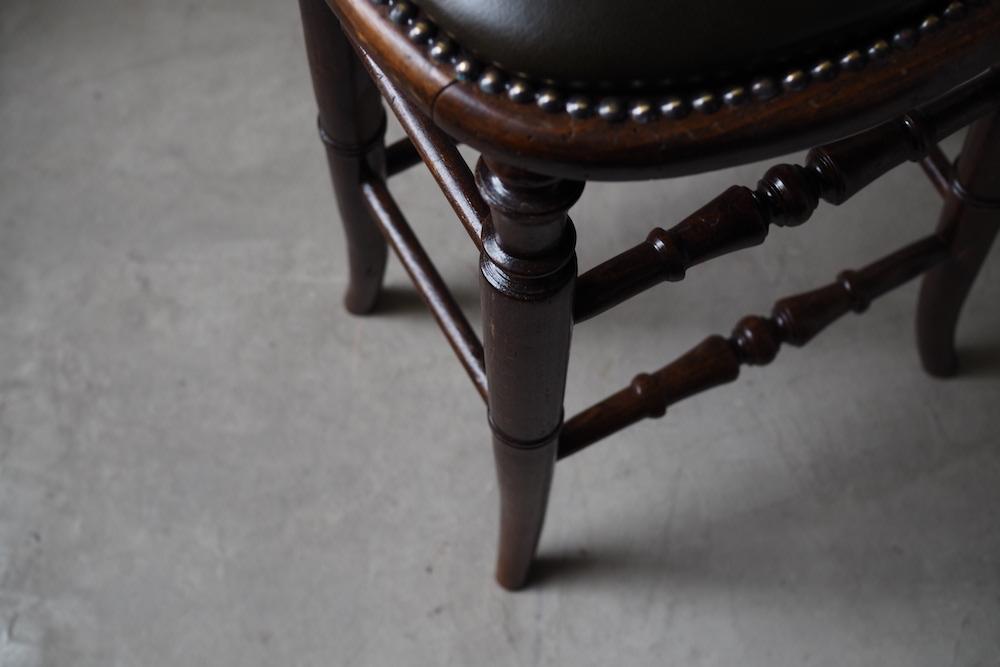 Leather stool<p>レザースツール</p>