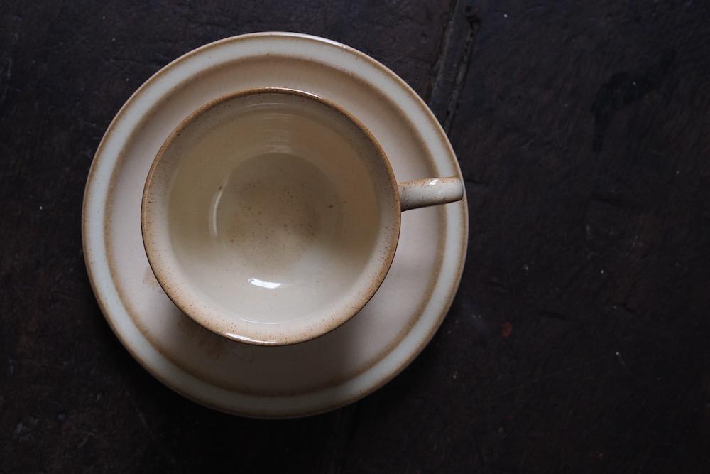 Denby cup&saucer (SANDALWOOD)<p>デンビー カップ&ソーサー (サンダルウッド)</p>