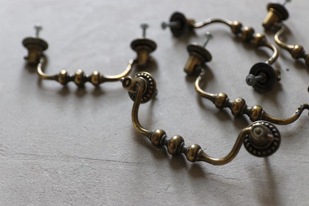Vintage brass handle <p>真鍮ハンドル</p>