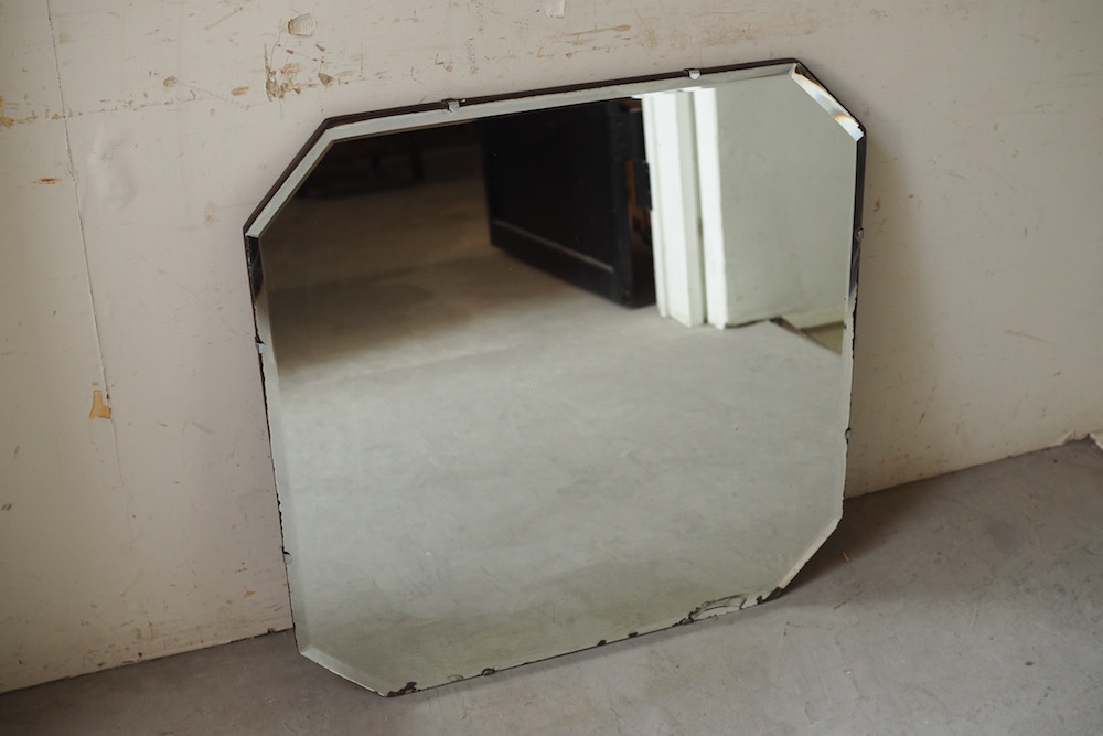 Vintage cutting mirror D<p>ヴィンテージ カッティングミラー D</p>