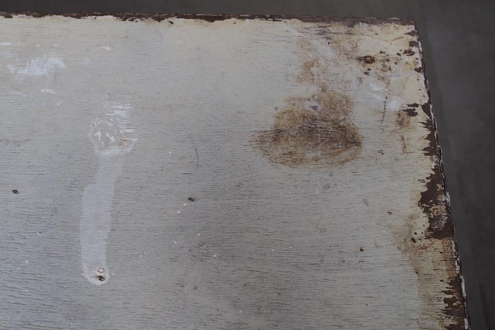 White paint table<p>ホワイトペイント テーブル</p>