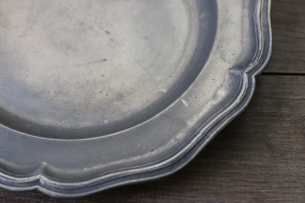 Pewter plate<p>ピュータープレート</p>