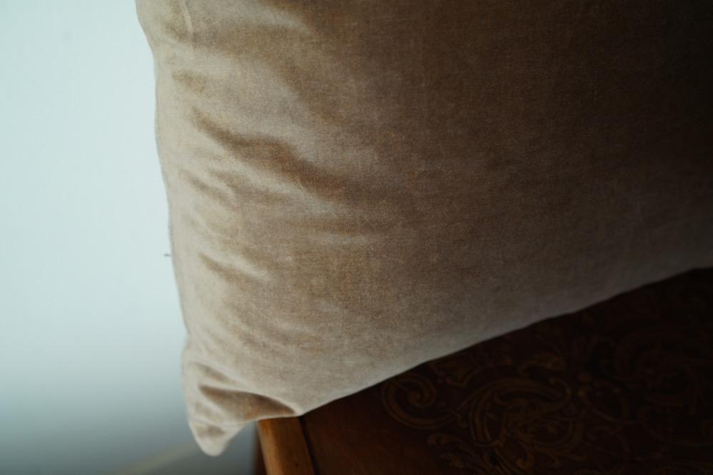 Hand-dyed velvet cushion cover 45 / BA-HA-BA<p>キルステンヘクターマン 手染めベルベットクッション (カバーのみ)</p>
