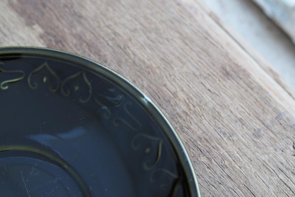 Barratts soup cup&saucer (green)<p>バラッツ スープカップ&ソーサー(グリーン)</p>