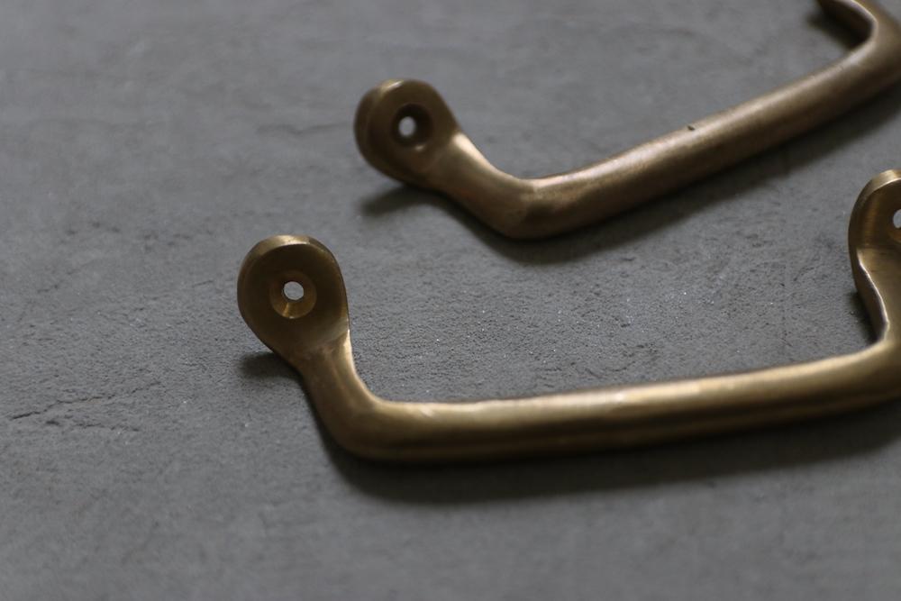 Brass handle(snake)<p>真鍮ハンドル(スネーク)</p>