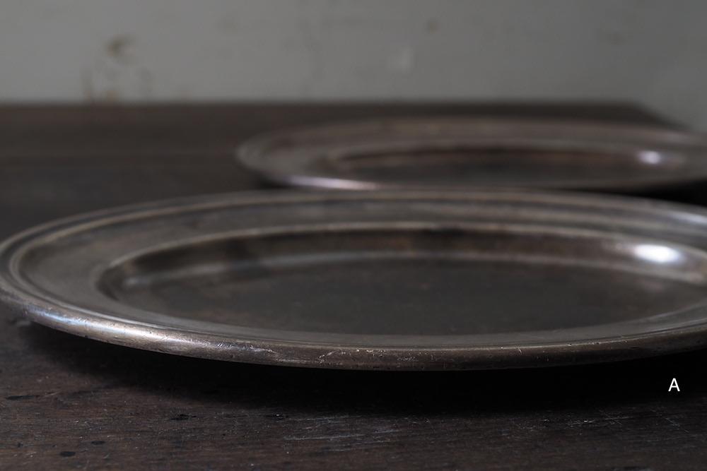 ERCUIS oval plate(silverplate)<p>エルキューイ オーバルプレート(銀メッキ)</p>