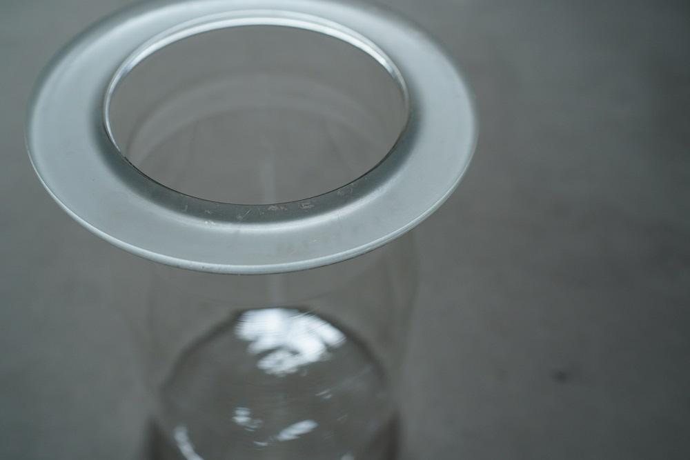 Vintage glass jar<p>ヴィンテージ ガラスジャー</p>