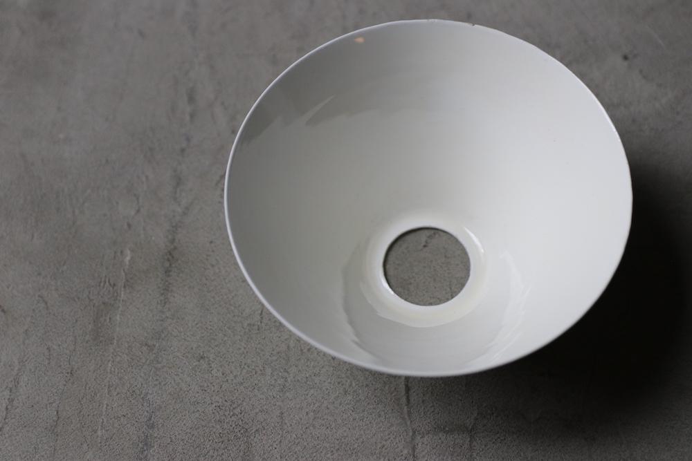 Small enamel  lamp shade<p>スモールホーローランプシェード</p>