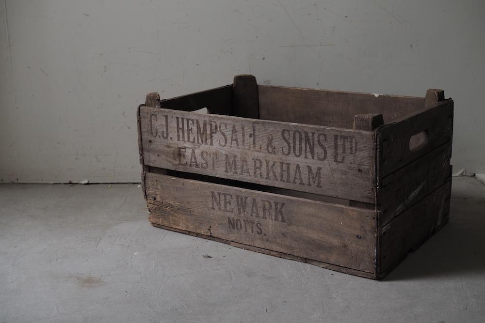 Wooden box B<P>ウッドボックス B</p>