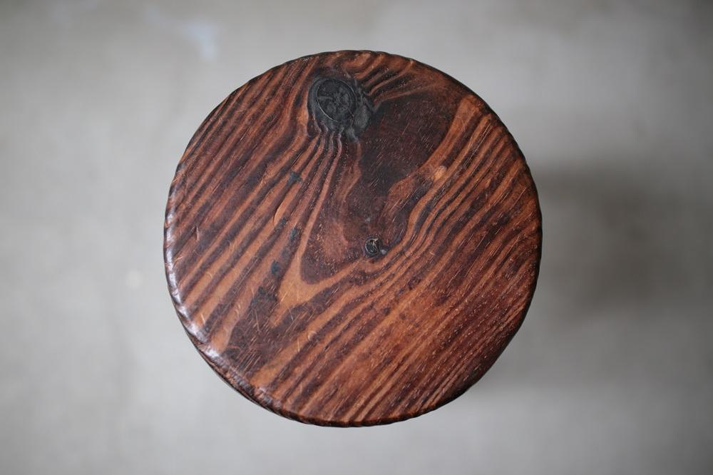 Wooden stool C<p>木製スツール C</p>