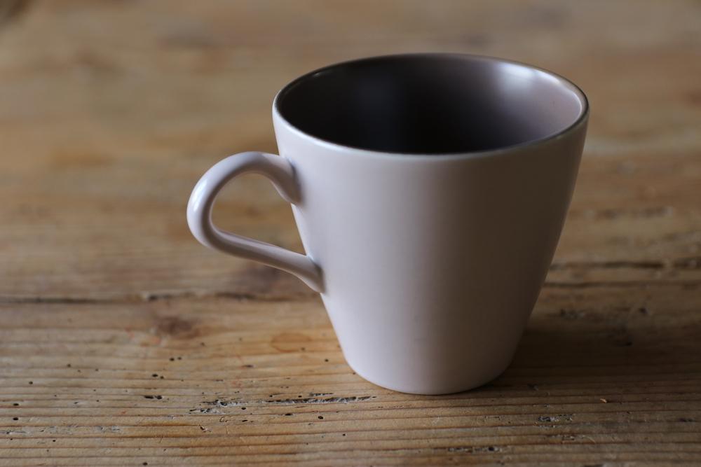 Poole pottery cup&saucer(Sepia&Mushroom)<p>プールポタリー カップ&ソーサー(セピア&マッシュルーム)</p>