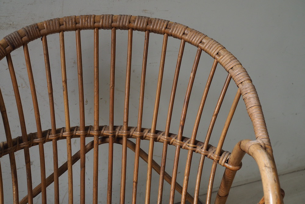 Rattan chair (d)<p>ラタンチェア (d)</p>
