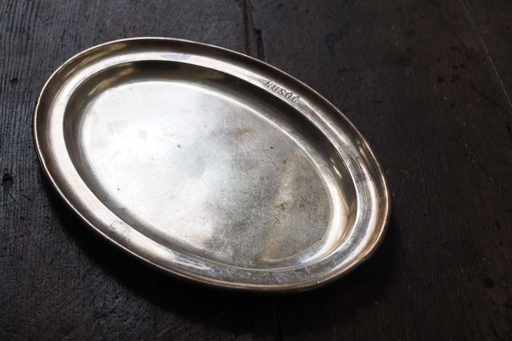 Oval plate(silverplate)<p>オーバルプレート(銀メッキ)</p>