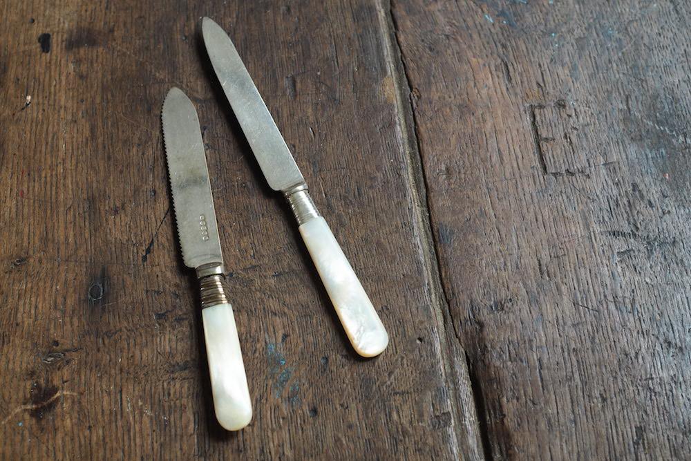 Shell handle knife<p>シェルハンドルナイフ</p>