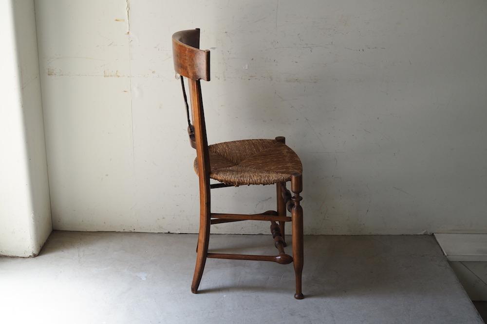 Rush seat chair D<p>ラッシュシート チェア D</p>