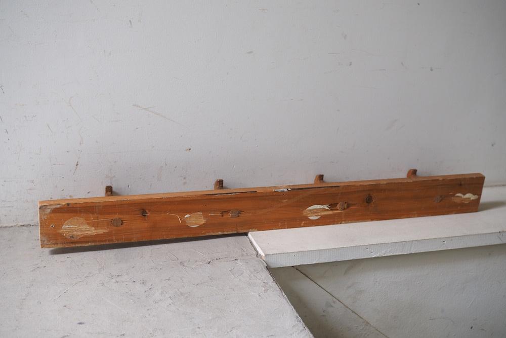 Vintage wall 4 hook B<p>ヴィンテージ 4連 ウォールフック B</p>
