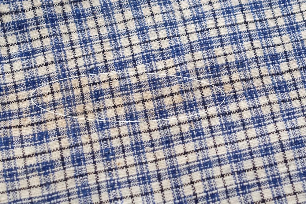 Antique Roll fabric (check/B)<p>アンティーク ロール生地 (チェック/B)</p>