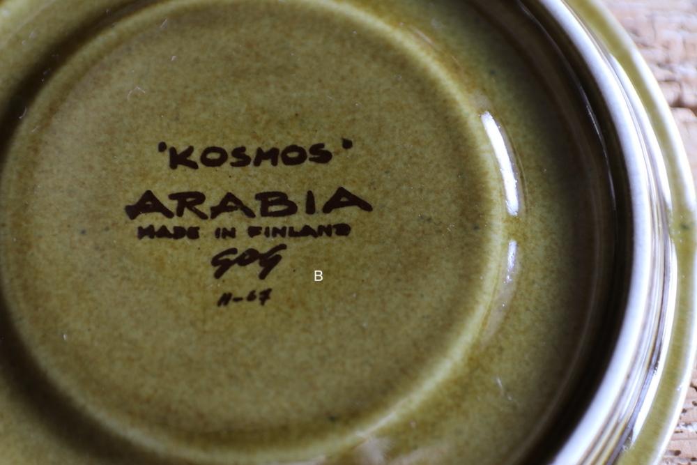 ARABIA Kosmos tea cup&sauser<p>アラビア コスモス ティーカップ&ソーサー</p>