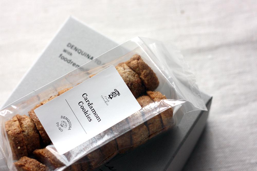 2月28日発送分 foodremedies×DENQUINA TO-GO Weekend cake&Cardamom cookies Box <p>ウィークエンドケーキ&カルダモンクッキーボックス</p>