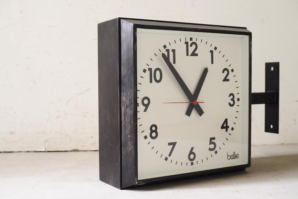 BRILLIE Wall Clock (double face)<p>ブリエ ウォール クロック (ダブルフェイス)</p>