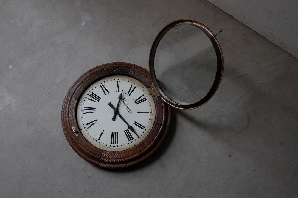 Vintage wall clock E<p>ウォールクロック E</p>