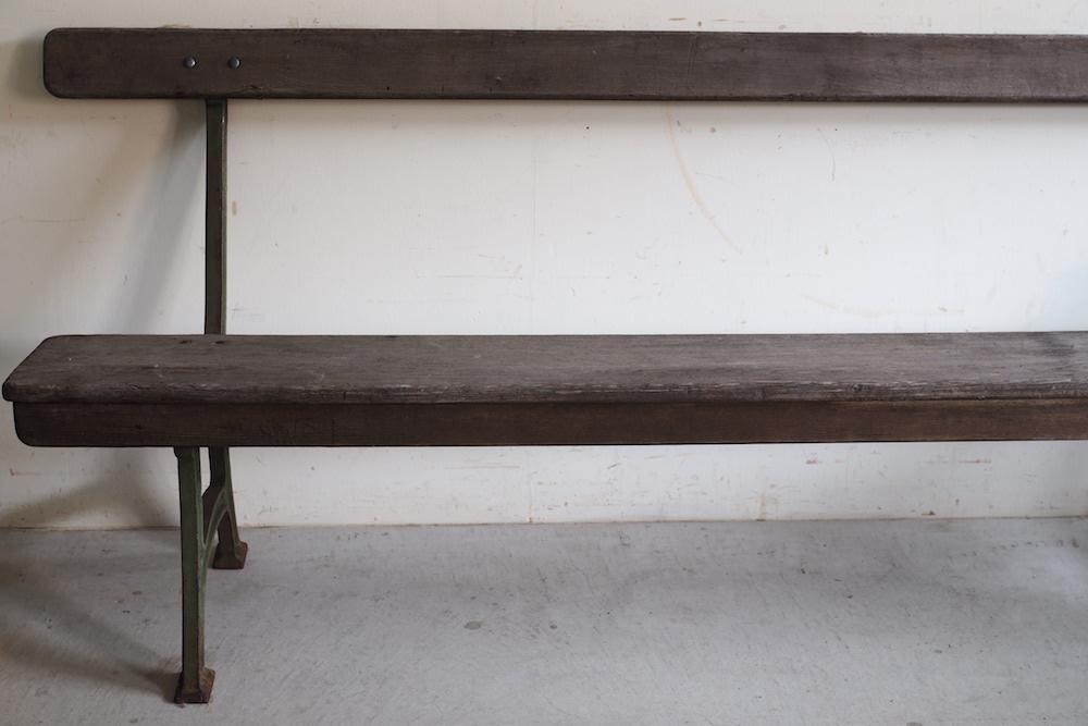 Vintage iron leg bench<p>ヴィンテージ アイアンレッグベンチ</p>