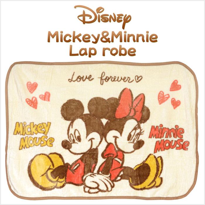 ディズニー(Disney) ミッキー&ミニー Love forever ひざ掛け サイズ/(約)70×100cm
