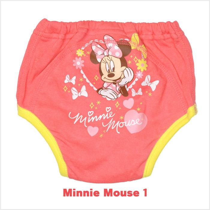 ディズニー(Disney) ミニーマウス 3層トレーニングパンツ3枚組